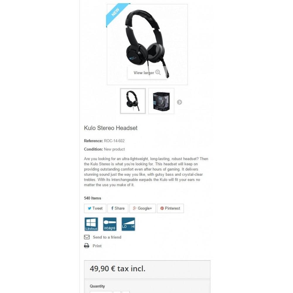 module - Etiquettes & Logos - Pictogrammes Icones Produits - 4