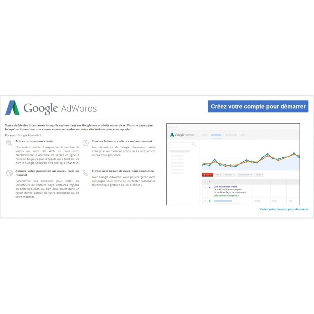 module - Référencement payant (SEA SEM) & Affiliation - Google Adwords Conversions - 1