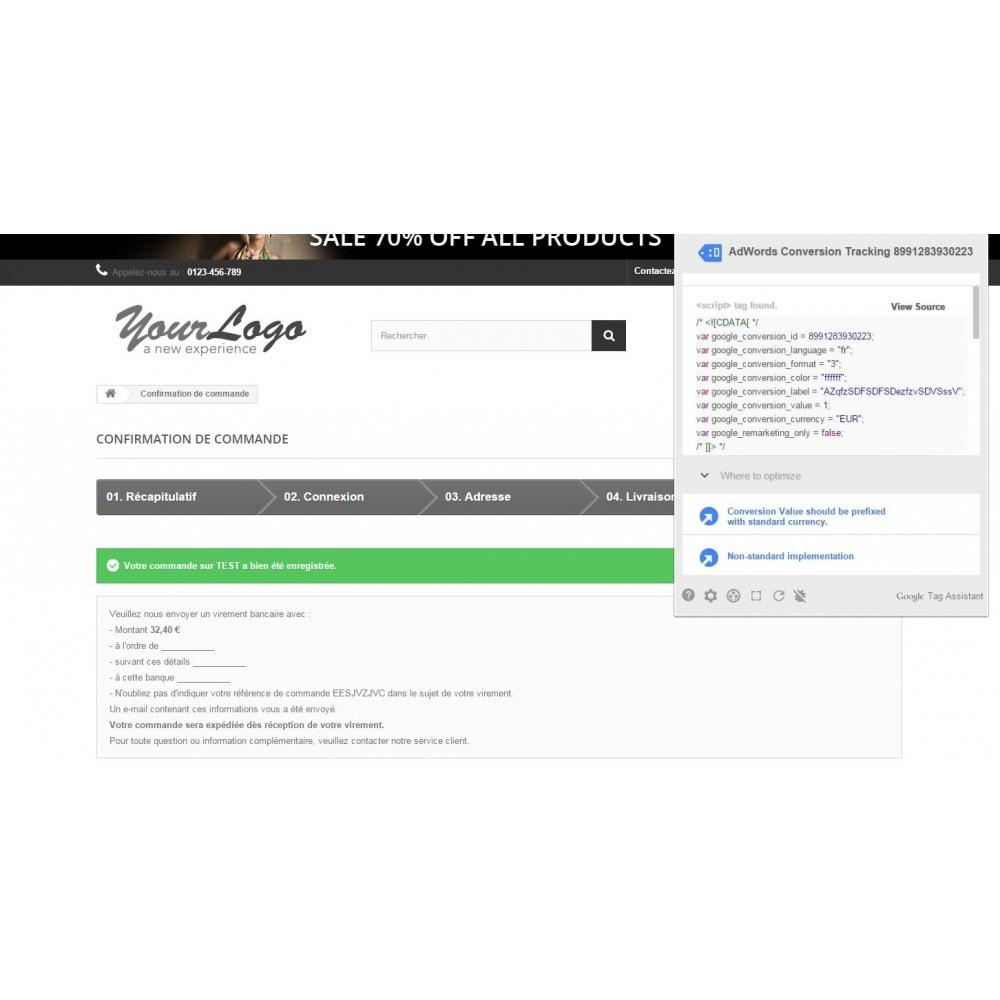 module - Référencement payant (SEA SEM) & Affiliation - Google Adwords Conversions - 4
