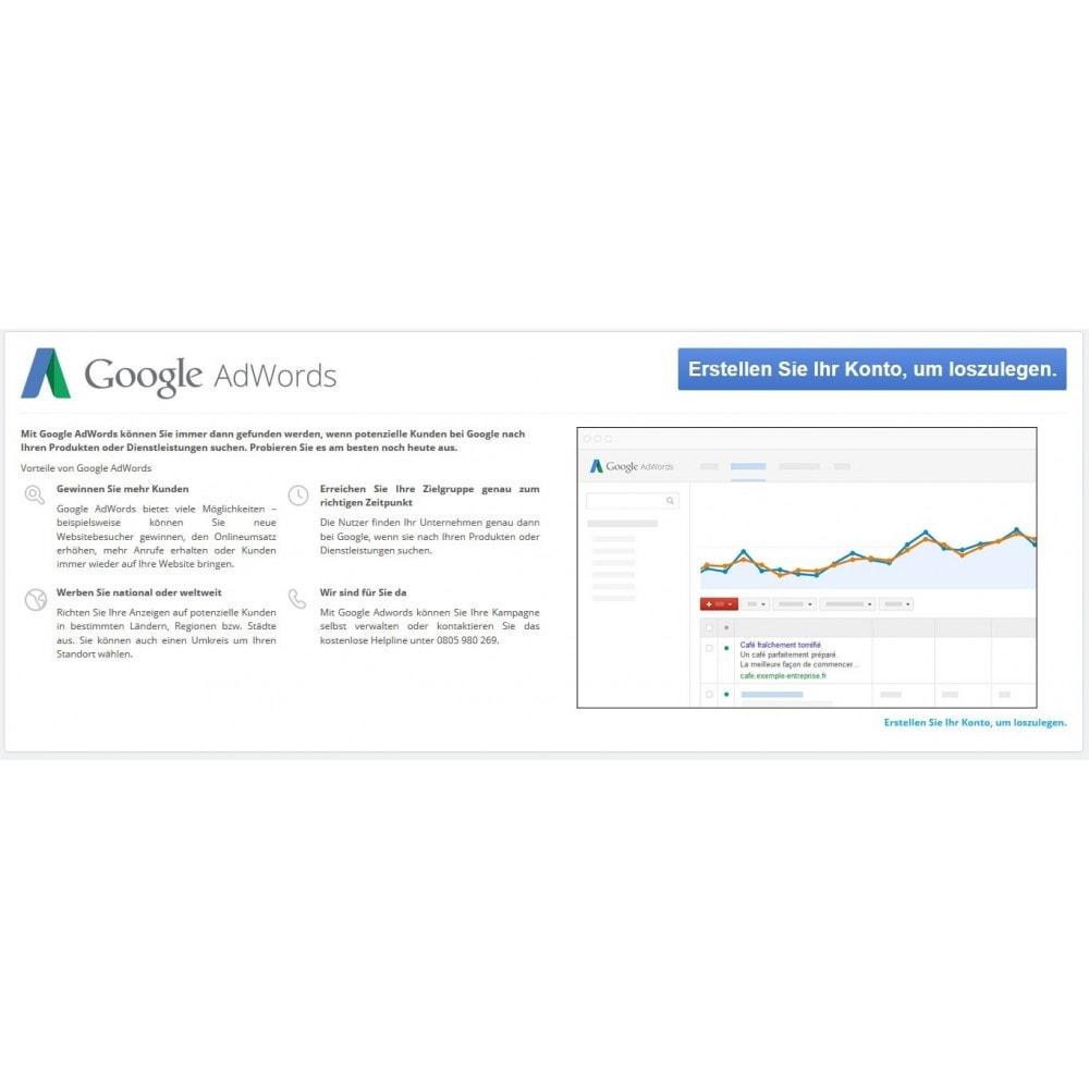 module - SEA SEM (Bezahlte Werbung) & Affiliate Plattformen - Google AdWords-Conversions - 1