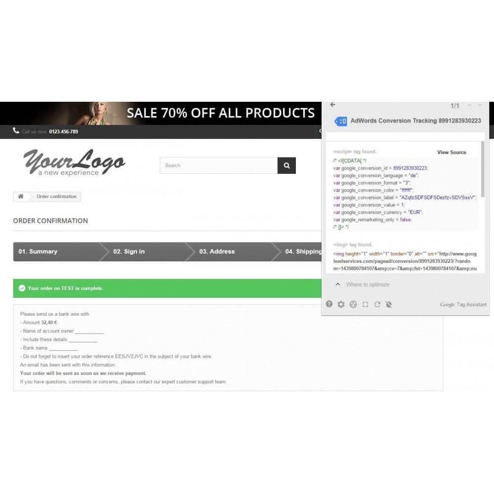 module - SEA SEM (Bezahlte Werbung) & Affiliate Plattformen - Google AdWords-Conversions - 4