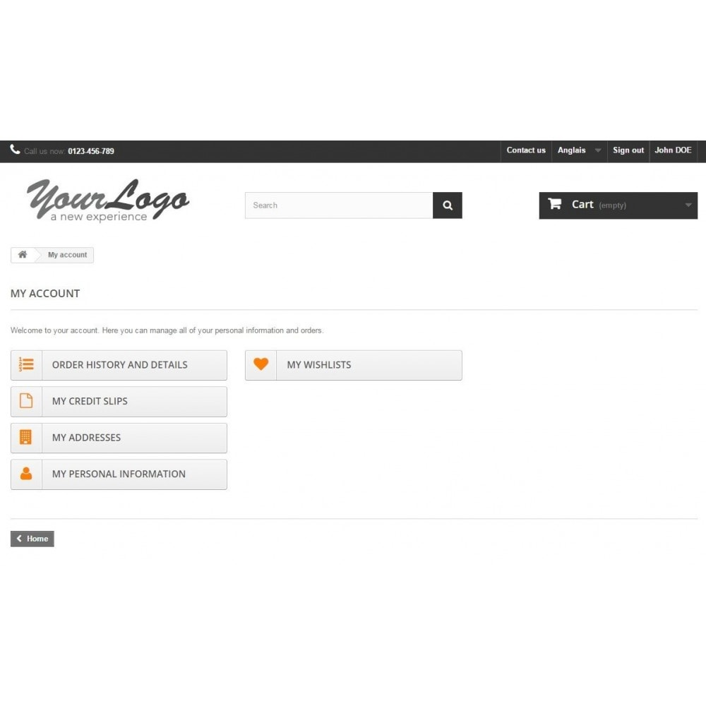 module - Управления учетными записями клиентов - Client Login - 3