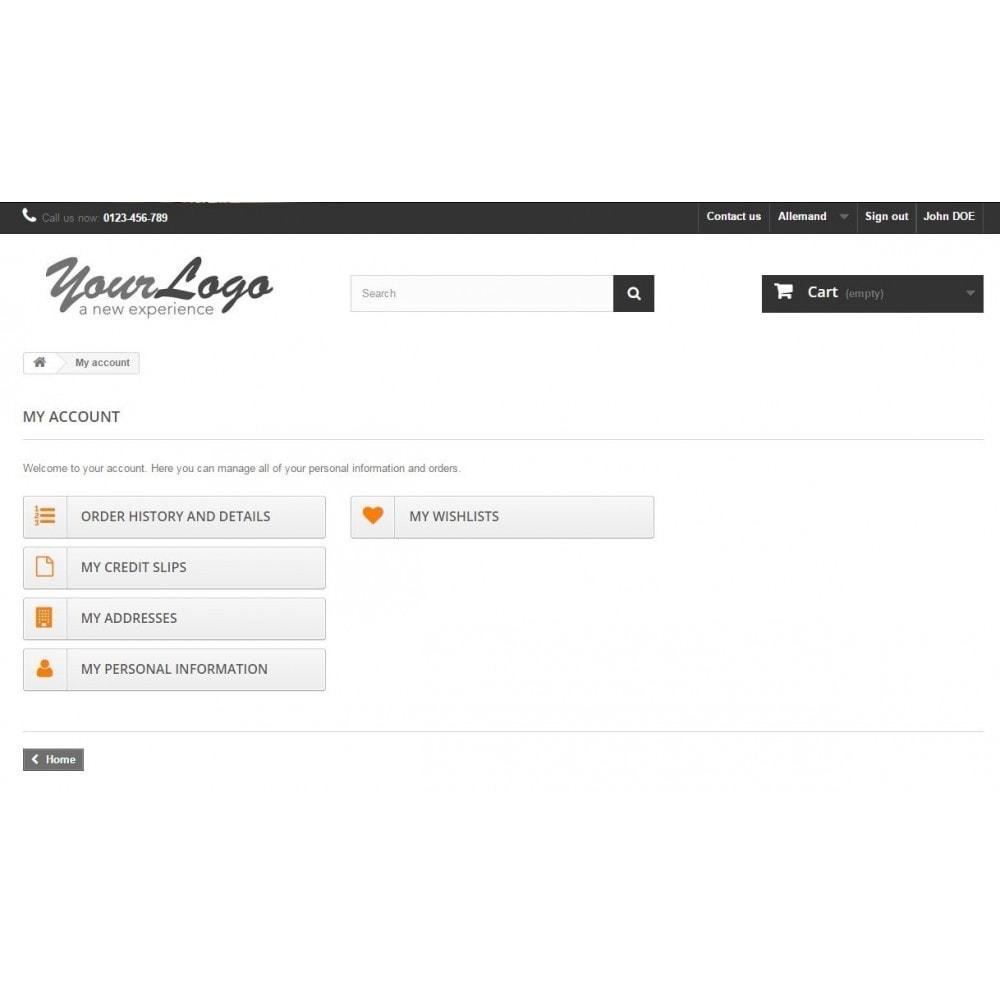 module - Kundenverwaltung - Kunden-Login - 3