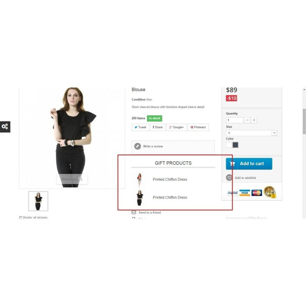 module - Promoties & Geschenken - Gift products - 4