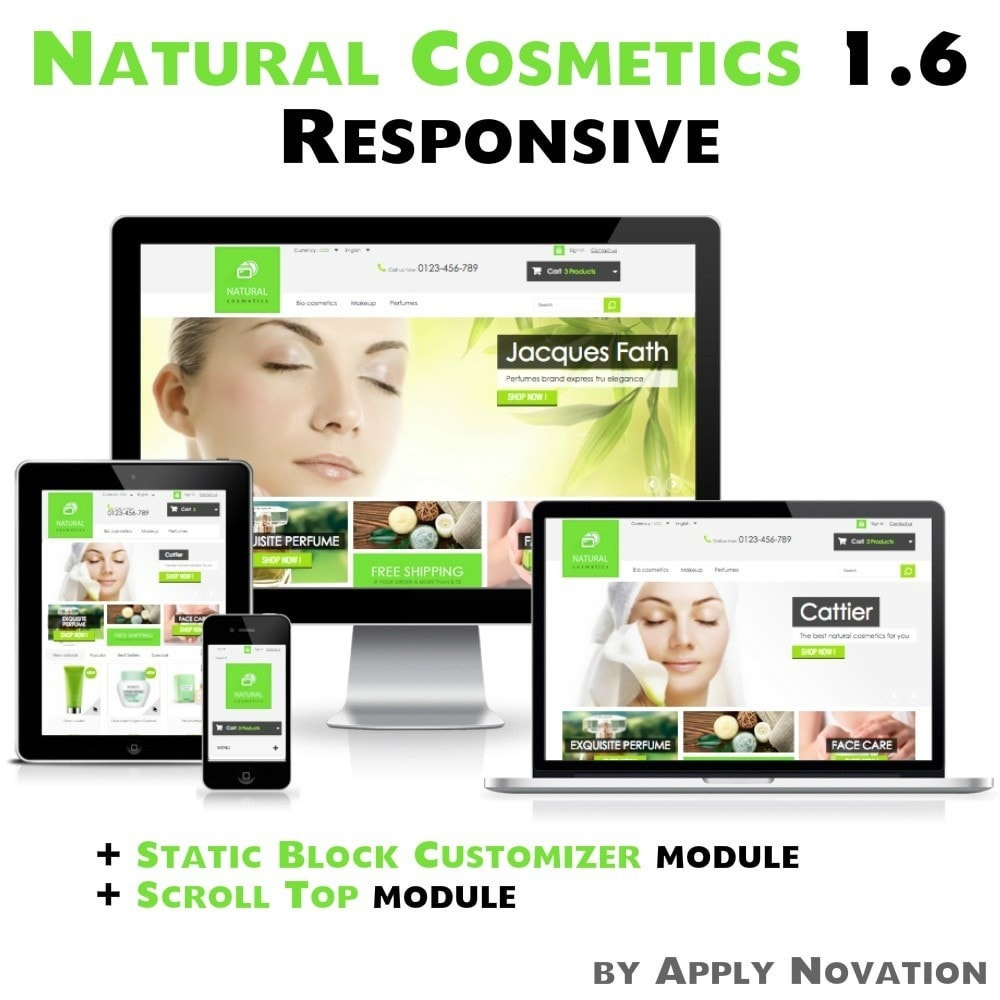 theme - Health & Beauty - Natural Cosmetics 1.6 Responsive - 1
