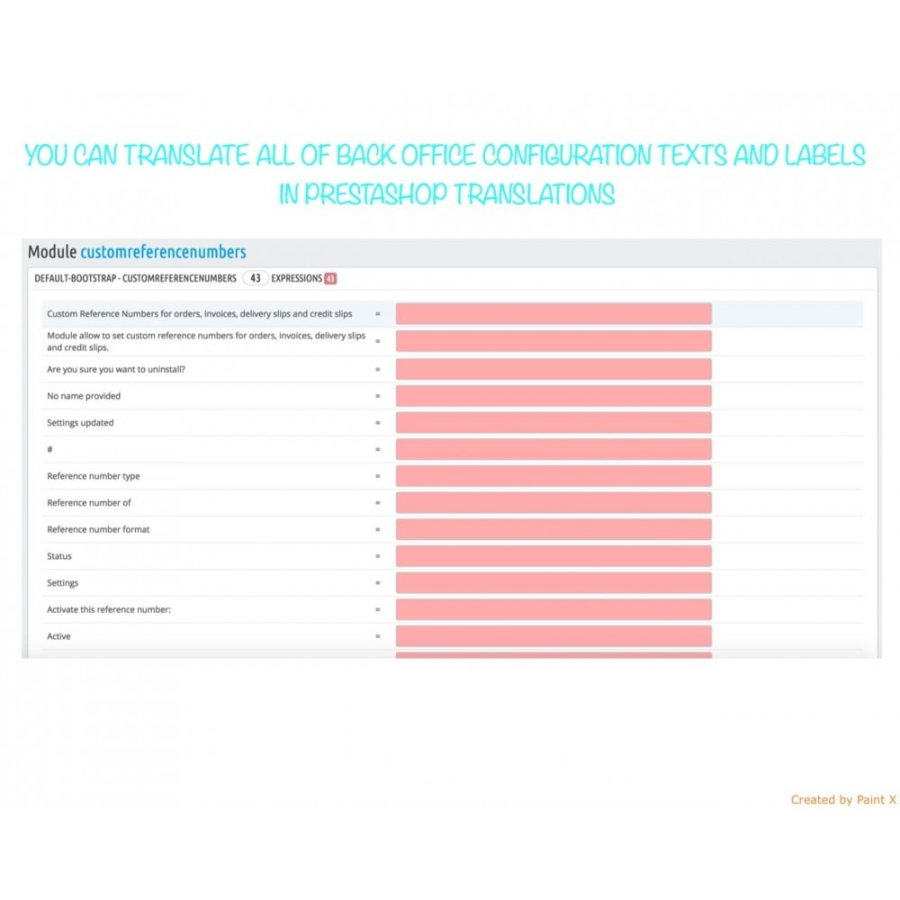 module - Бухгалтерии и выставления счетов - Custom number-orders,invoices,delivery and credit slips - 9