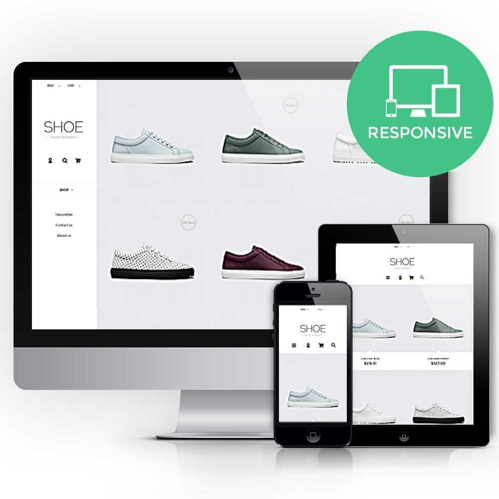 theme - Mode & Schuhe - Shoes Store Prestashop 1.6 Responsive - 1