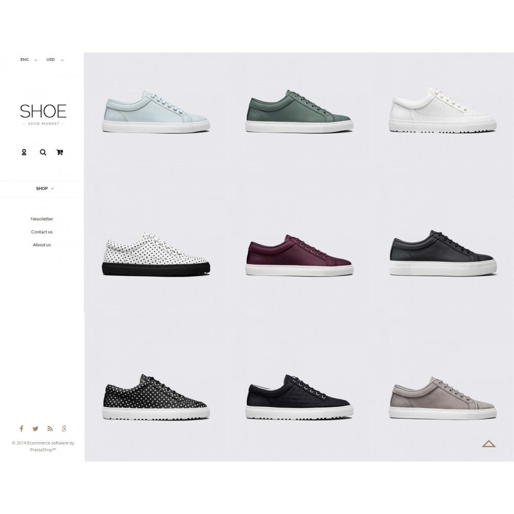 theme - Mode & Schuhe - Shoes Store Prestashop 1.6 Responsive - 2
