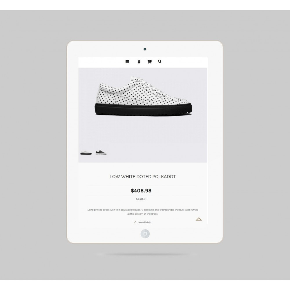theme - Mode & Schuhe - Shoes Store Prestashop 1.6 Responsive - 5