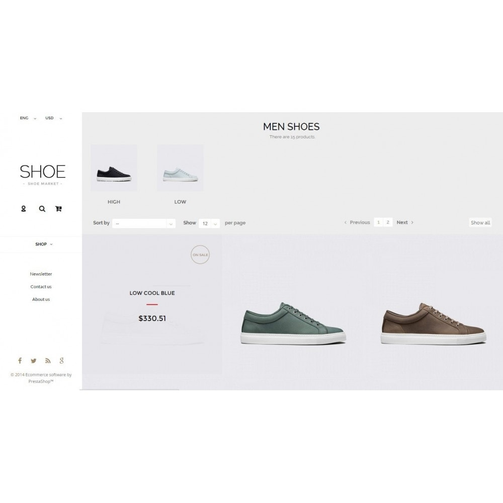 theme - Mode & Schuhe - Shoes Store Prestashop 1.6 Responsive - 9