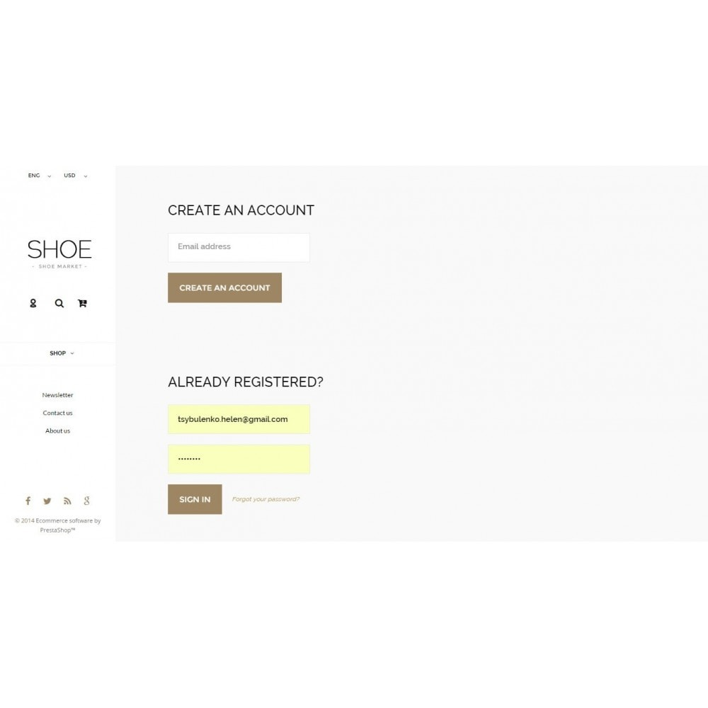 theme - Mode & Schuhe - Shoes Store Prestashop 1.6 Responsive - 11
