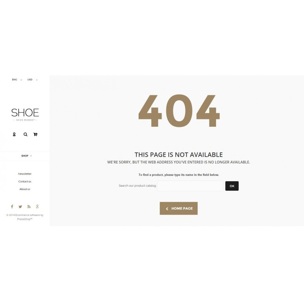 theme - Mode & Schuhe - Shoes Store Prestashop 1.6 Responsive - 13