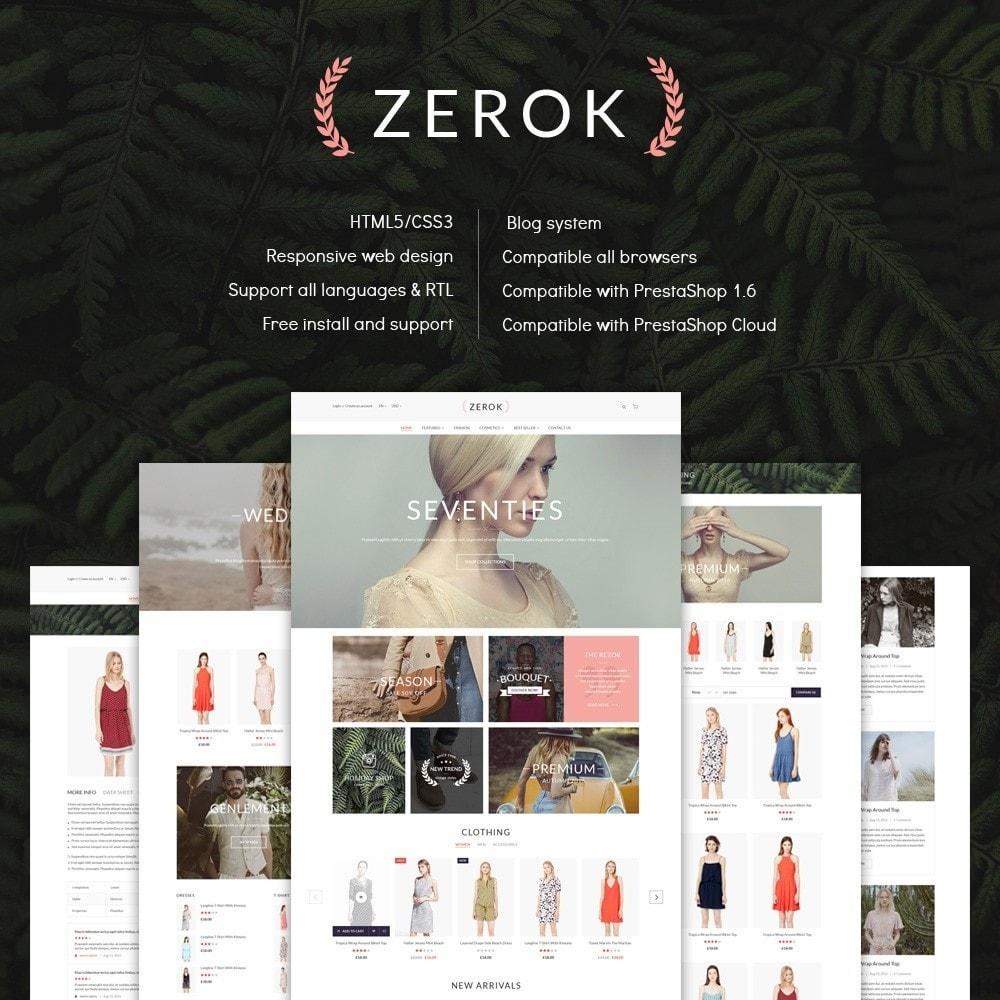 theme - Moda & Obuwie - Zerok - Fashion Store - 1