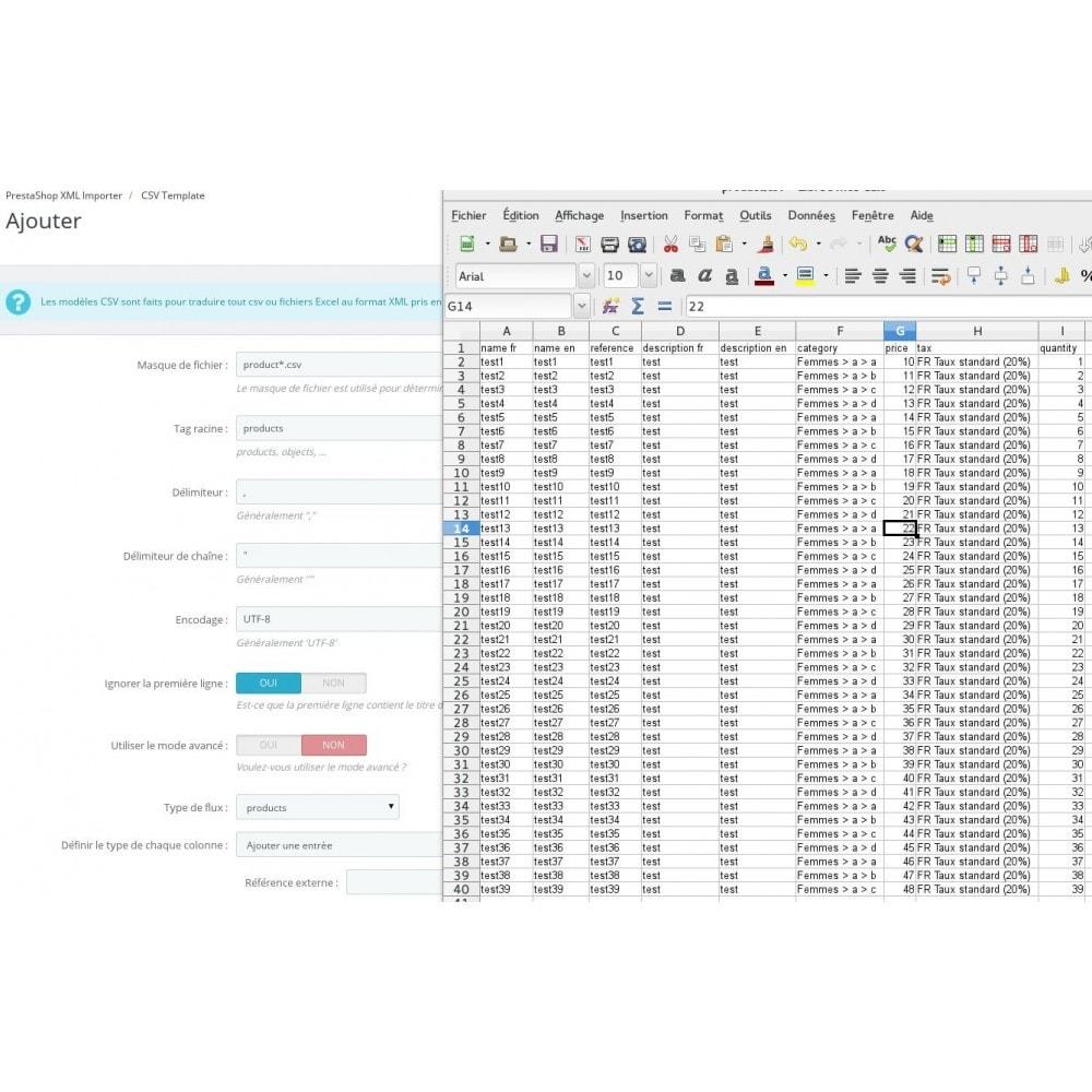 module - Edition rapide & Edition de masse - Advanced XML & CSV Importer - 3