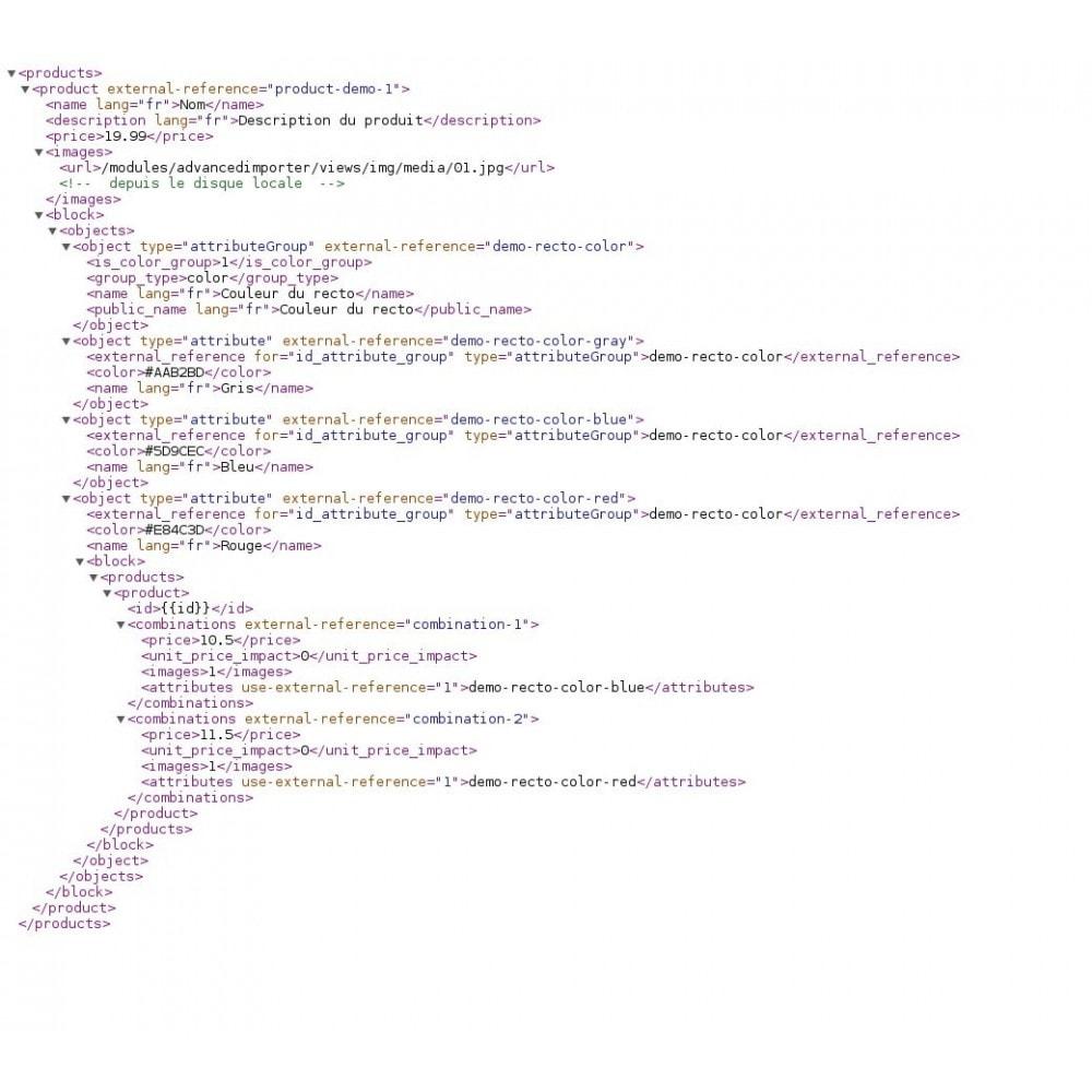 module - Edición Rápida y Masiva - Advanced XML & CSV Importer - 7
