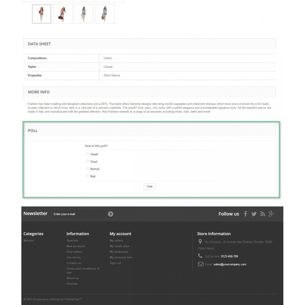 module - Contact Forms & Surveys - Product Polls - 2