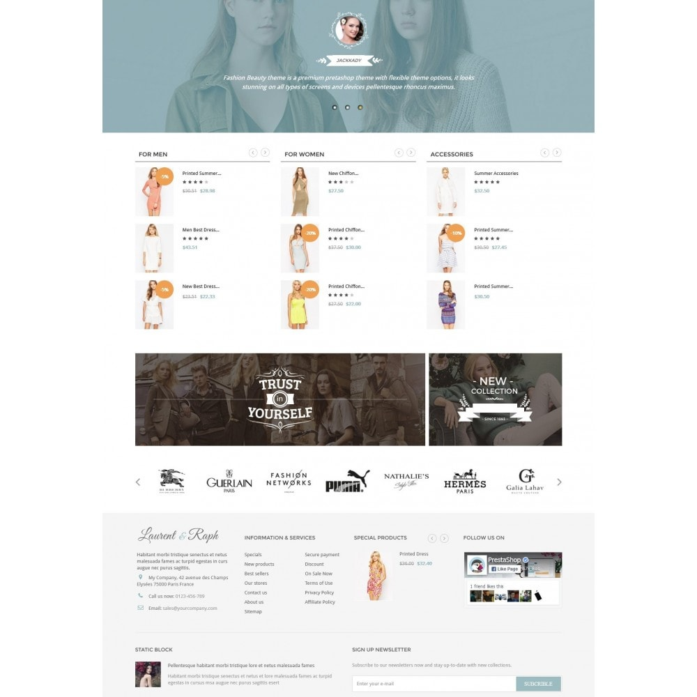 theme - Moda y Calzado - L&R Fashion Store - 3