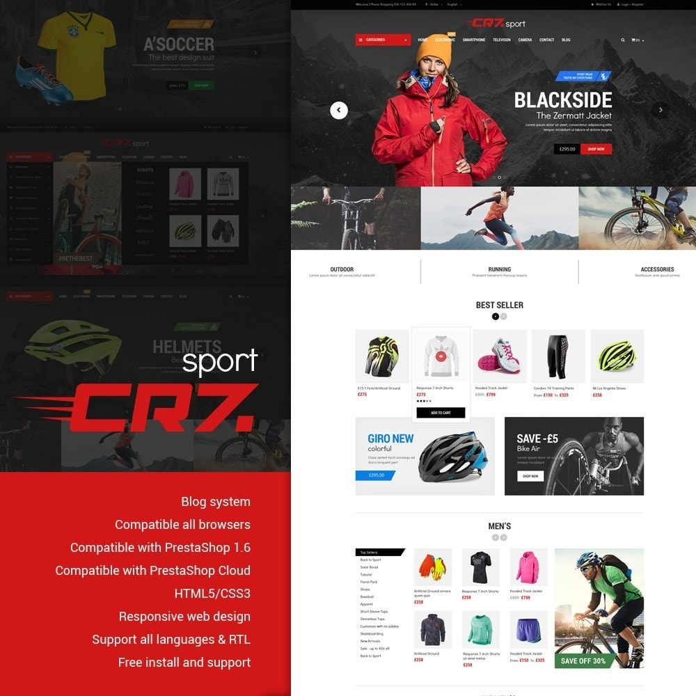 theme - Sports, Activities & Travel - Cr7 - Sport Store - 1