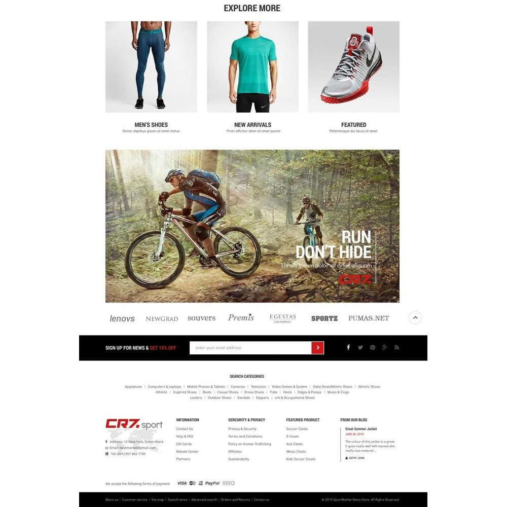 theme - Sports, Activities & Travel - Cr7 - Sport Store - 4