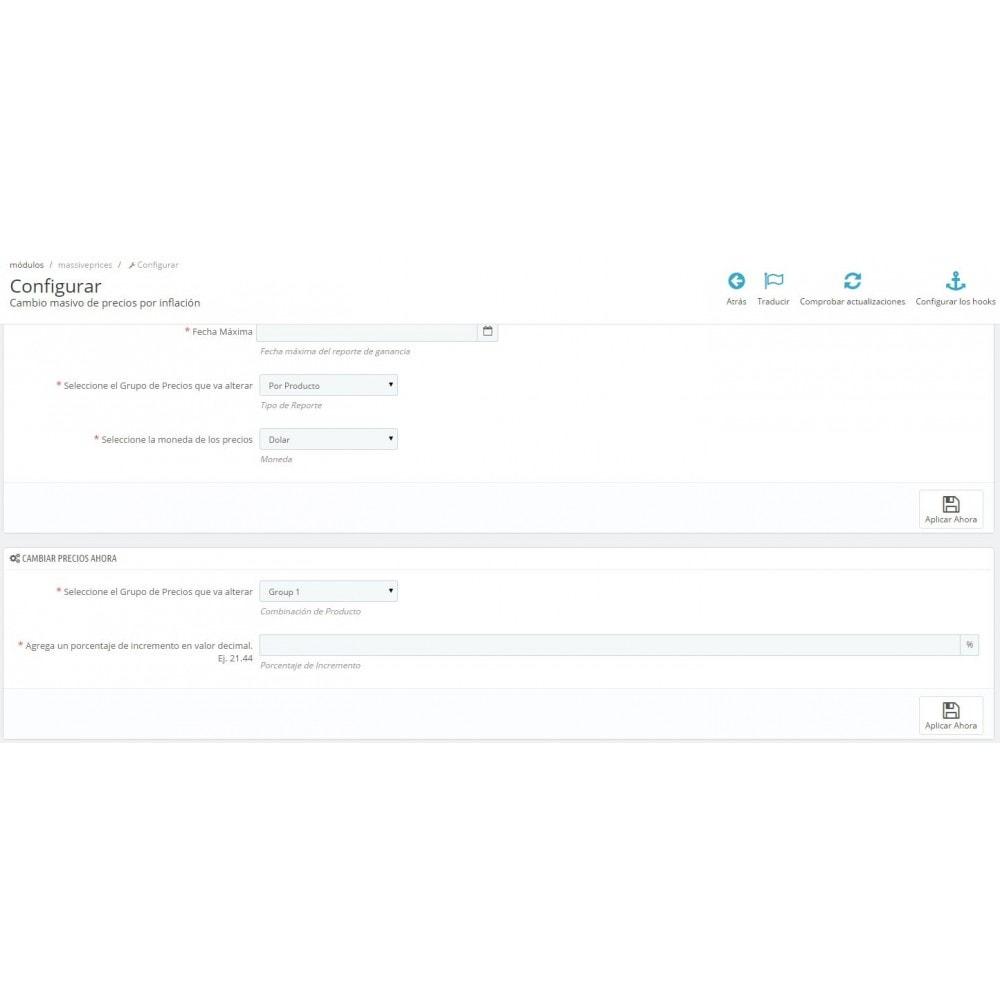 module - Edición Rápida y Masiva - Ajuste de precios rápido por tasas de inflación - 3