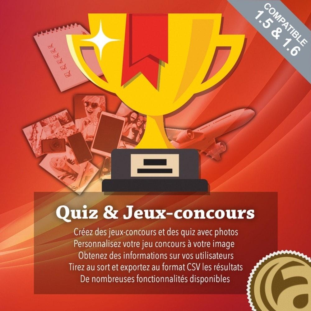 module - Jeux-concours - Quiz et Jeux-concours - 1
