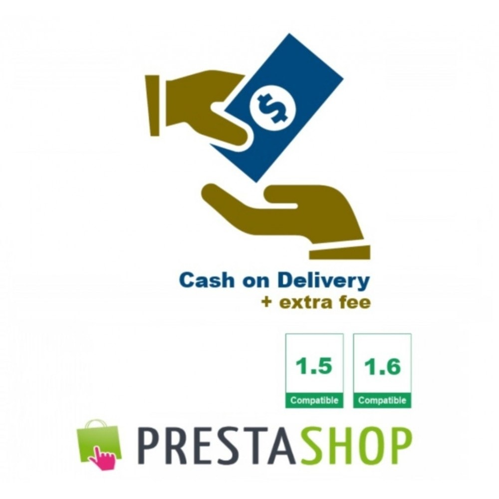 module - Cash On Delivery (COD) - Cash on Delivery + extra fee (CoD) - 1