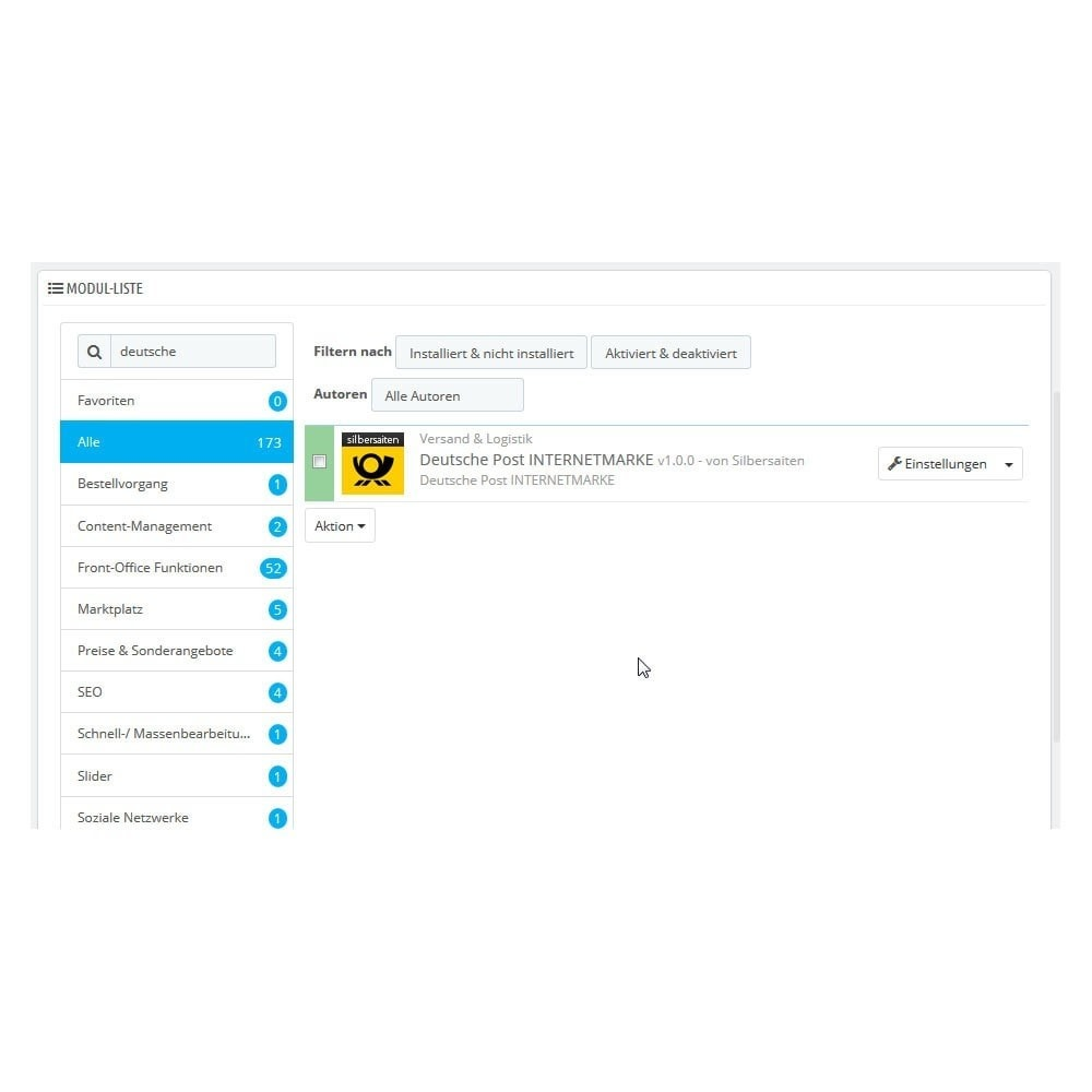 module - Transporteurs - Deutsche Post PrestaShop Connector - 1