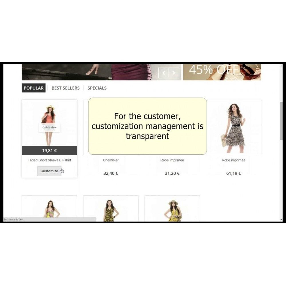 module - Bundels & Personalisierung - Customizations by combination - 5
