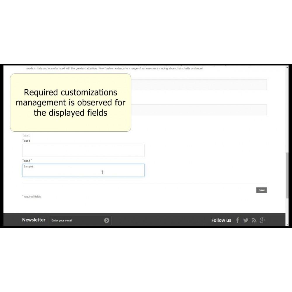 module - Bundels & Personalisierung - Customizations by combination - 7