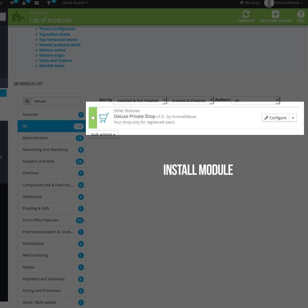 module - B2B - Private Shop module for B2B business - 2