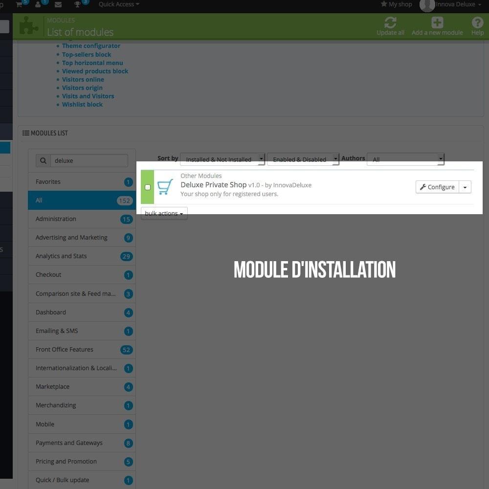 module - B2B - Boutique Privée pour le marketing B2B - 2