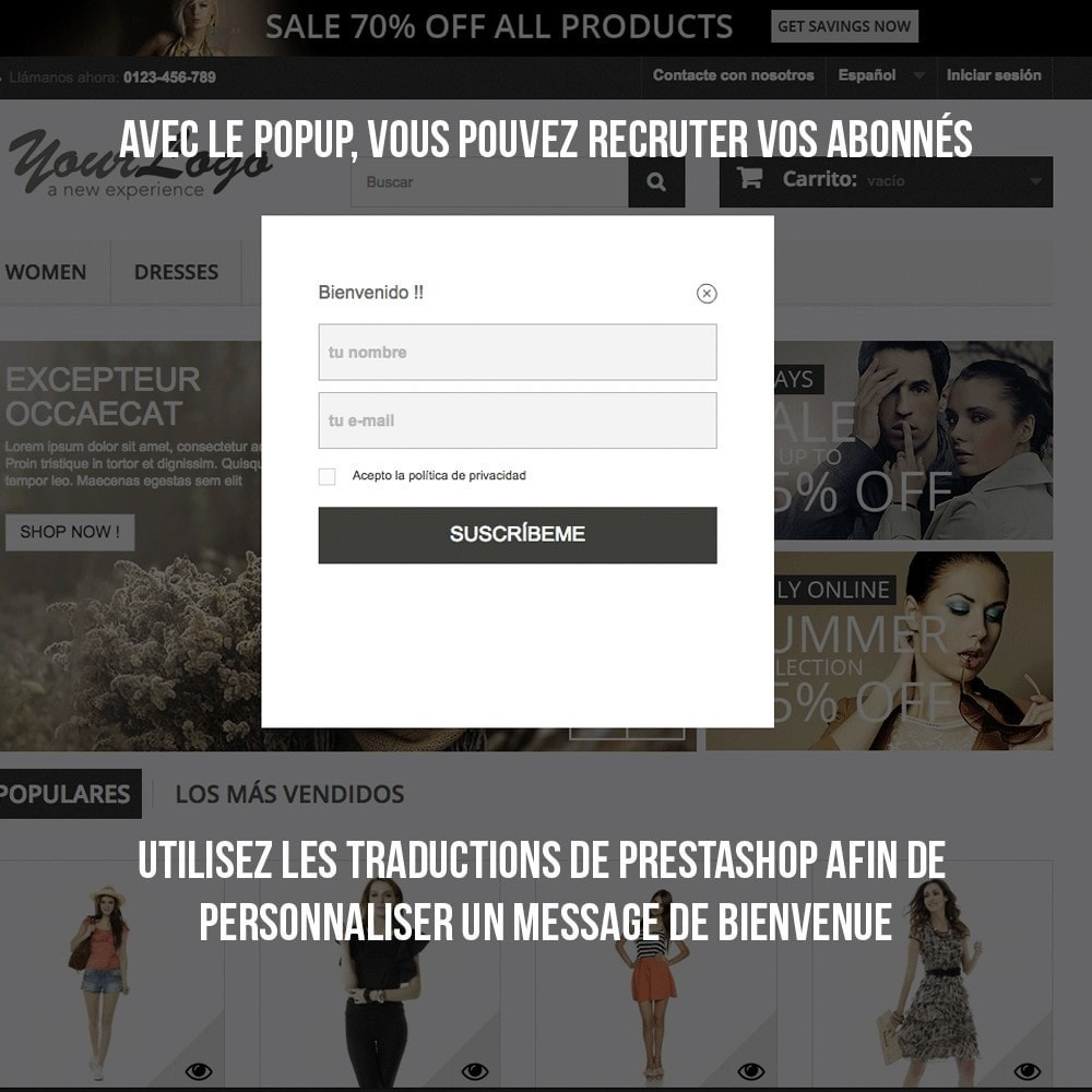 module - E-mails & Notifications - Intégration avec Benchmark Mail Marketing - 6