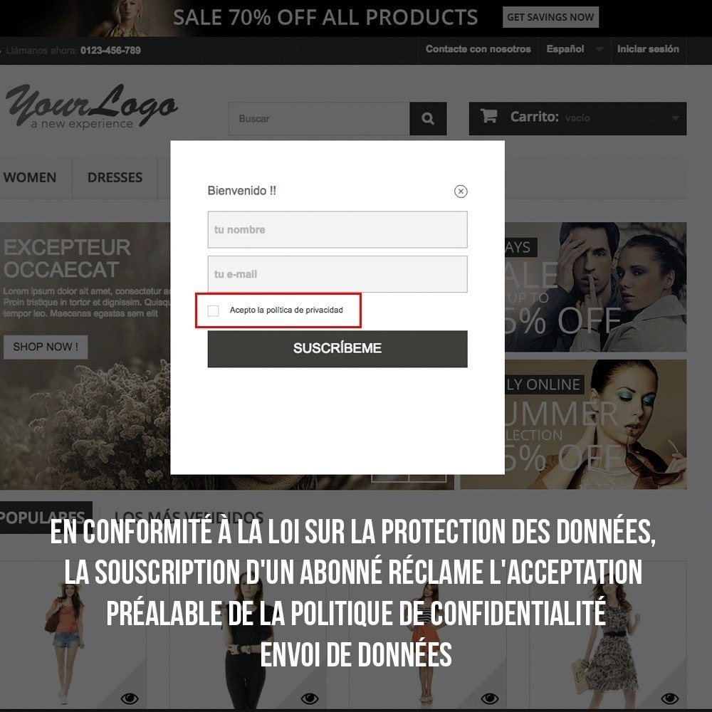 module - E-mails & Notifications - Intégration avec Benchmark Mail Marketing - 7