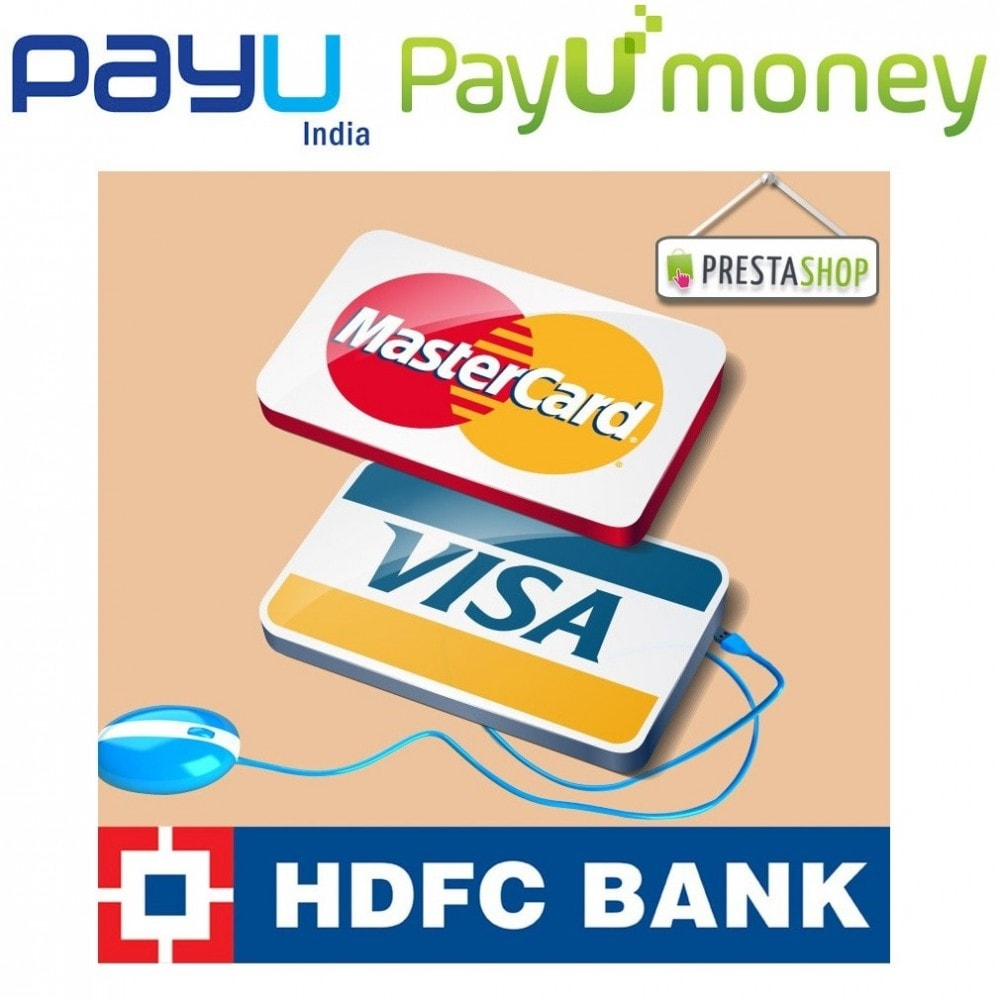 module - Payment by Card or Wallet - PAYU and HDFC payment gateway powered by PAYU India - 1