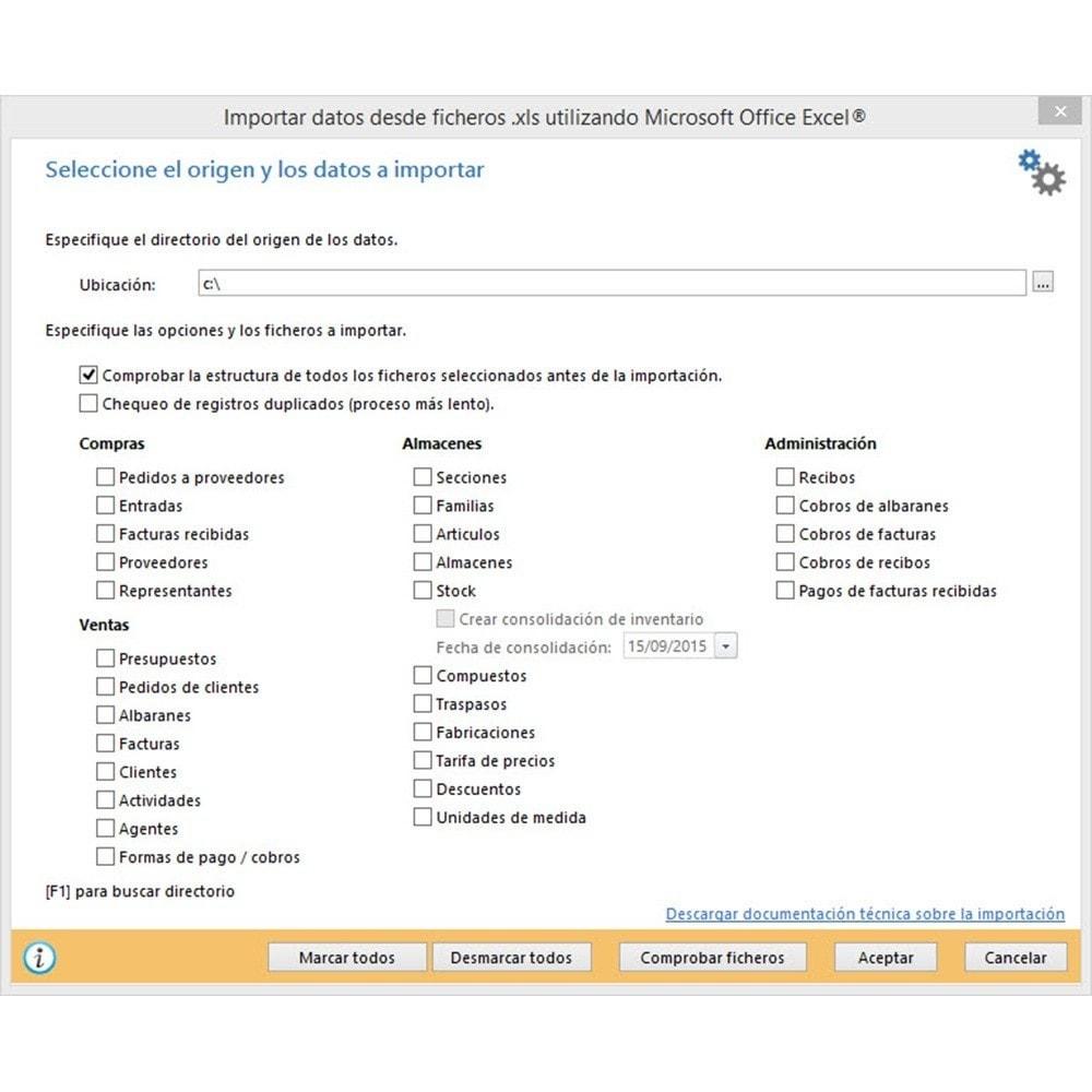 module - Conexão com software de terceiros (CRM, ERP...) - Professional FactuSOL Connector - 17