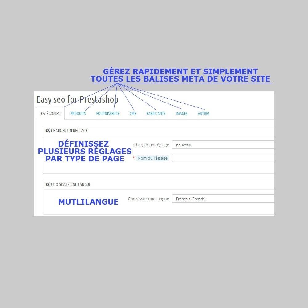 module - SEO (référencement naturel) - Optimisation du référencement easy seo - 2