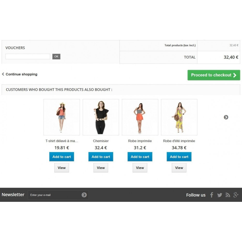 module - Cross-Selling & Produktbundles - Cross Selling / Manual related product with add to cart - 6