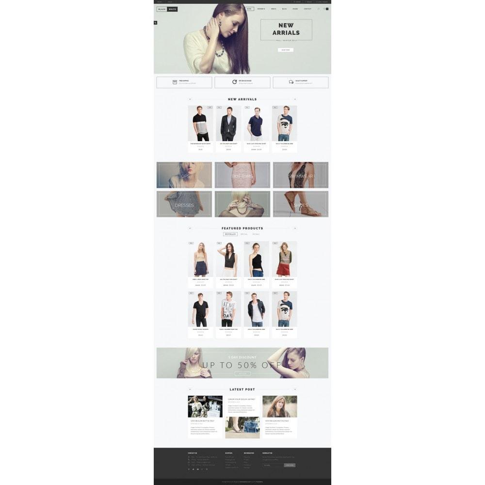 theme - Fashion & Shoes - JMS BlackWhite - 5