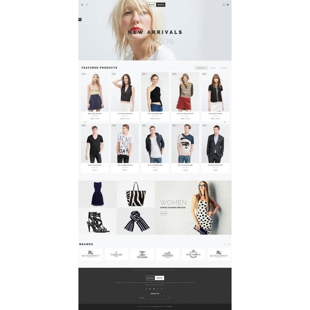 theme - Fashion & Shoes - JMS BlackWhite - 7