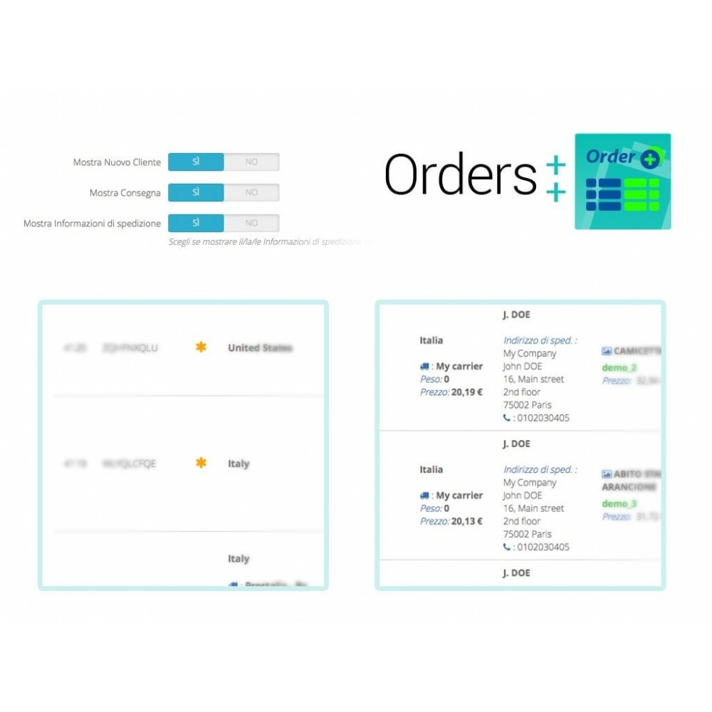 module - Управление заказами - Advanced Orders List with filters and special features - 8