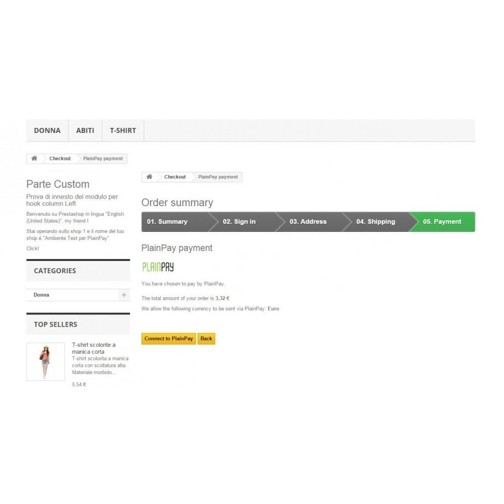module - Pagamento con Carta di Credito o Wallet - Auriga PlainPay - Soluzione facile di Pagamento - 3