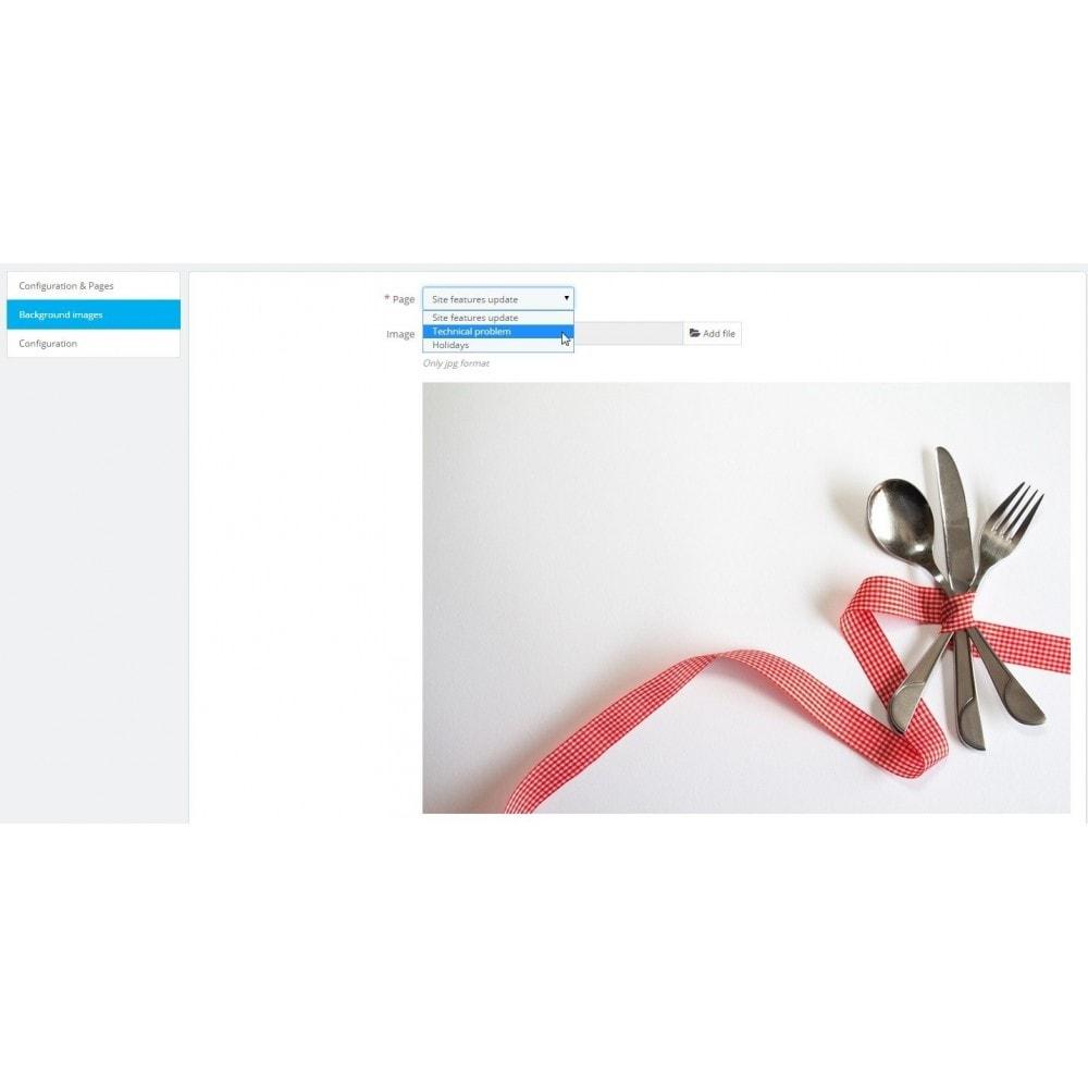 module - Personalizzazione pagine - Maintenance - 8