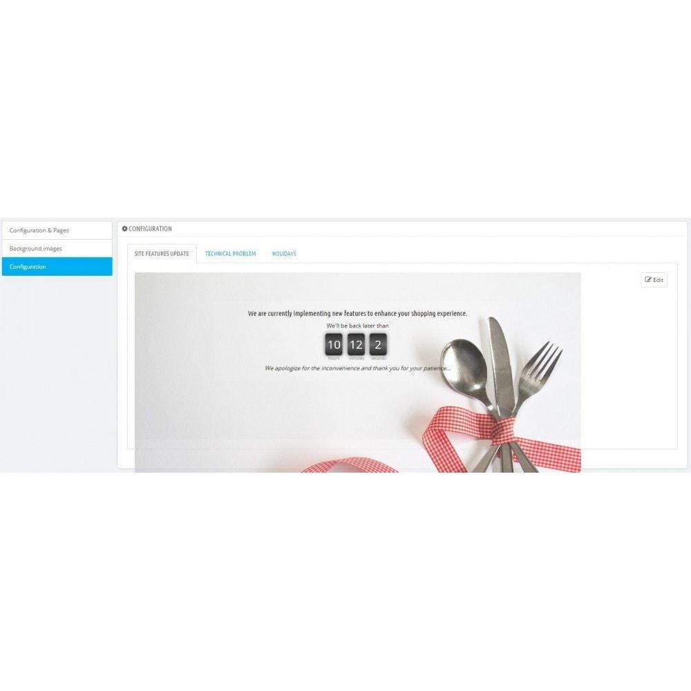 module - Personalizzazione pagine - Maintenance - 9
