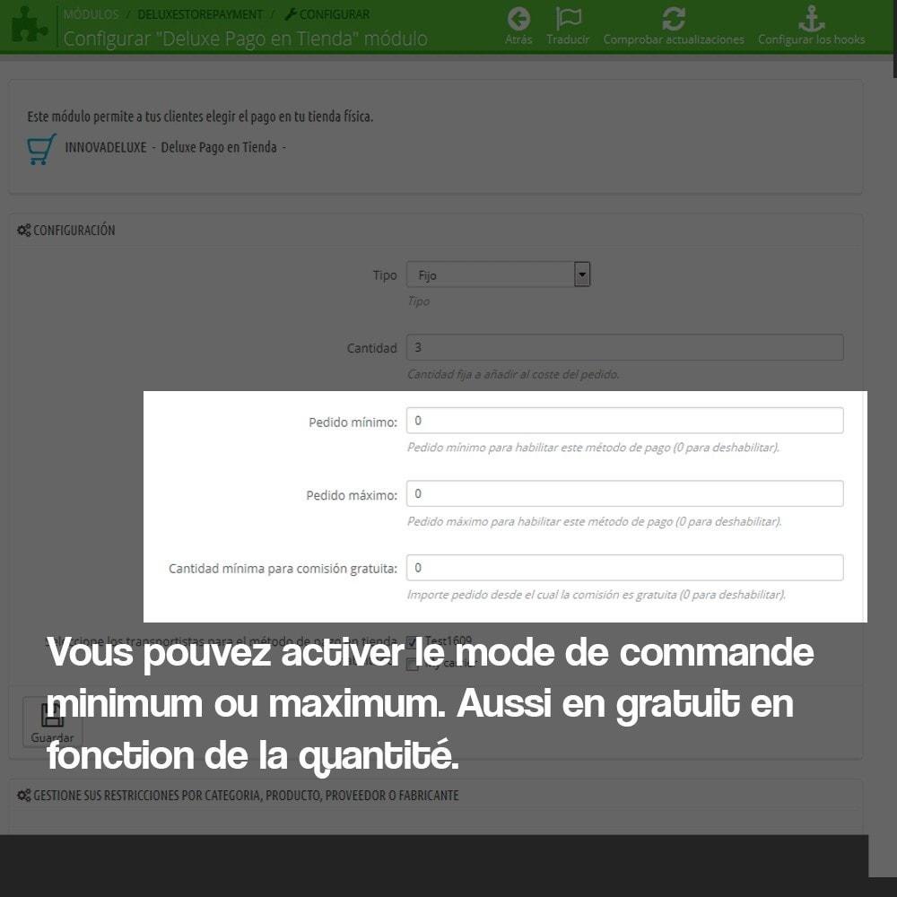module - Paiement en Magasin - Paiement en magasin physique (commission optionnelle) - 3