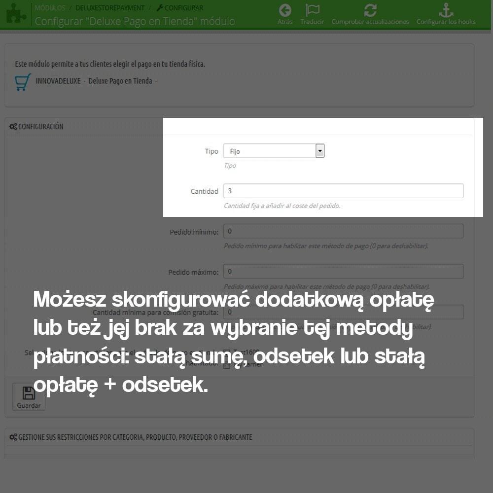 module - Płatność w sklepie - Payments in store (with optional commission) - 2