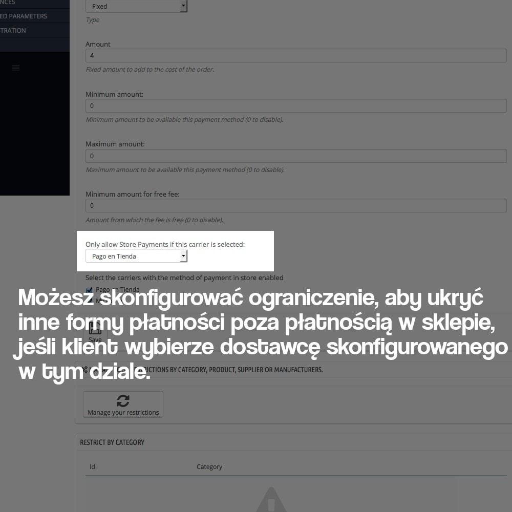 module - Płatność w sklepie - Payments in store (with optional commission) - 4