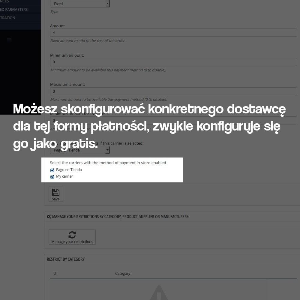 module - Płatność w sklepie - Payments in store (with optional commission) - 5