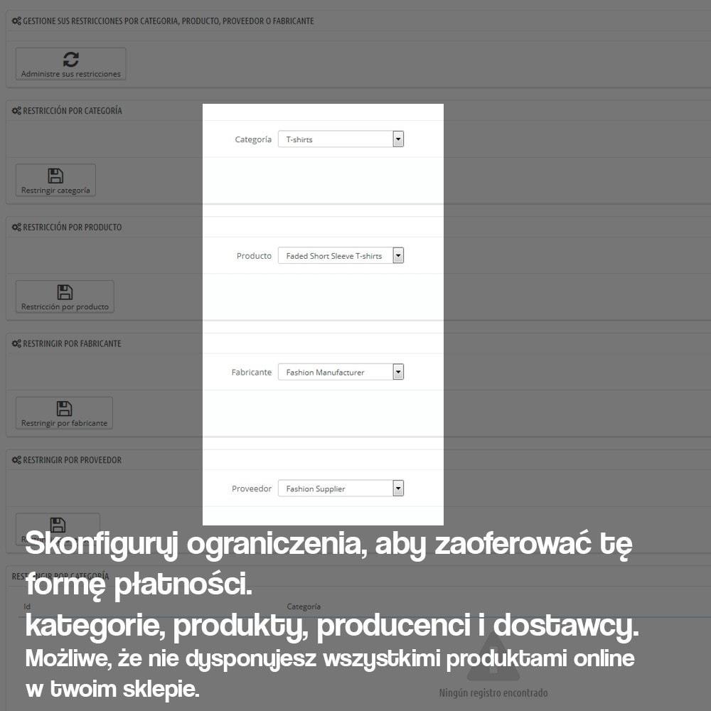 module - Płatność w sklepie - Payments in store (with optional commission) - 6