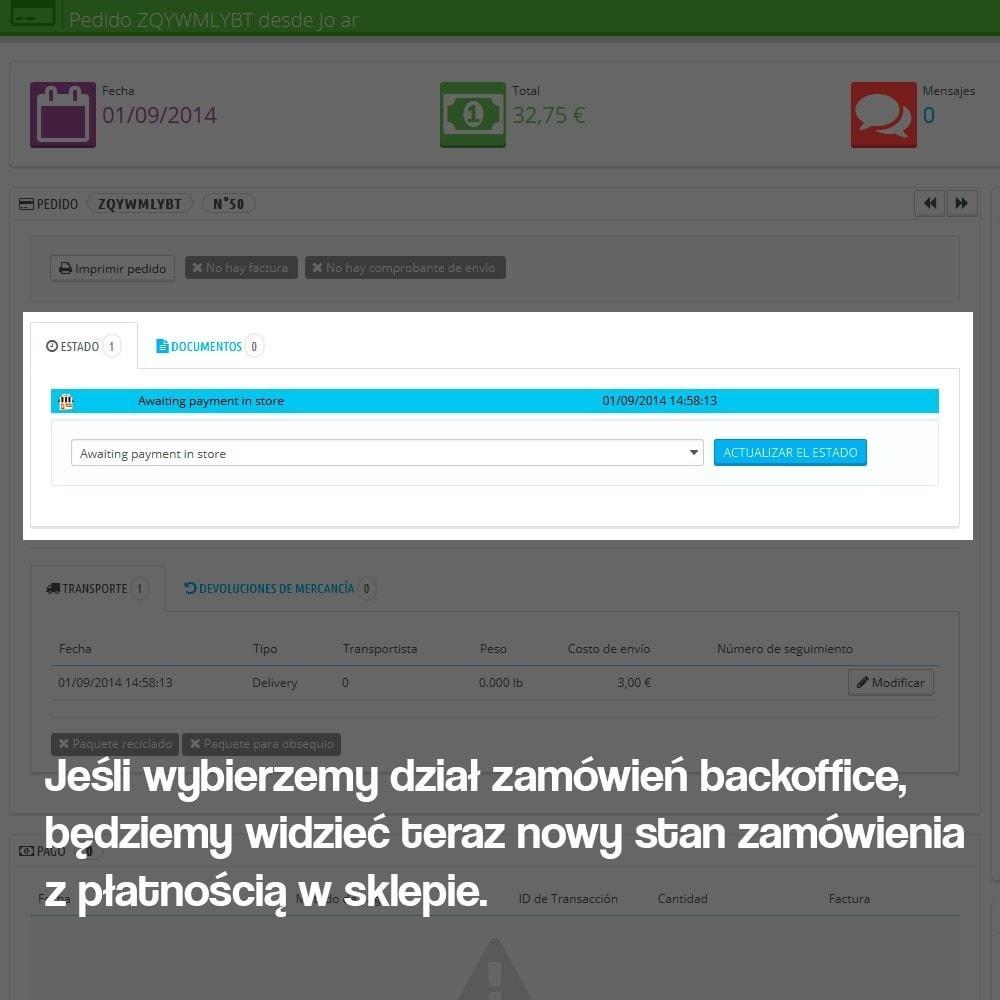 module - Płatność w sklepie - Payments in store (with optional commission) - 10
