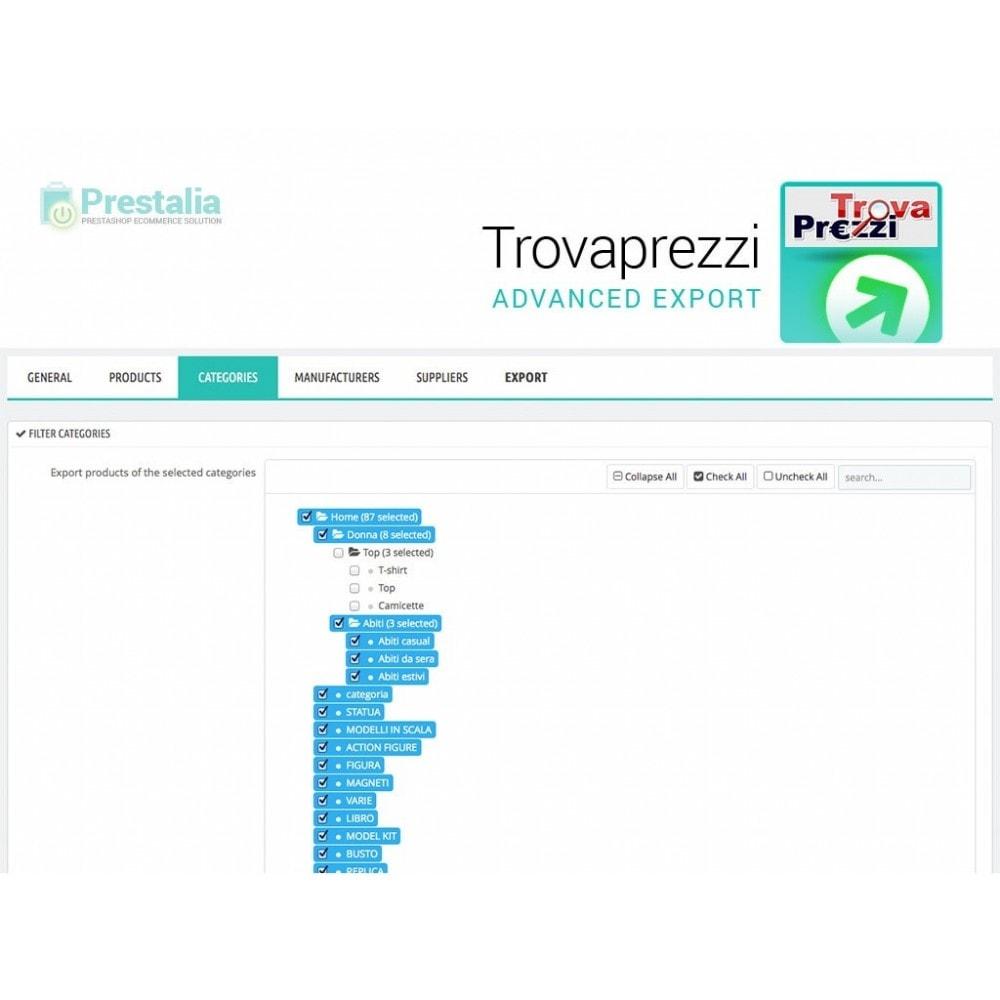 module - Data Import & Export - Esporta Prodotti Trovaprezzi con filtri avanzati - 4